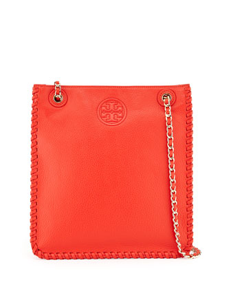 Marion North-South Shoulder Bag, Red