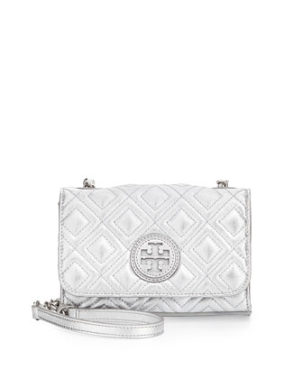 Marion Quilted Leather Small Shoulder Bag