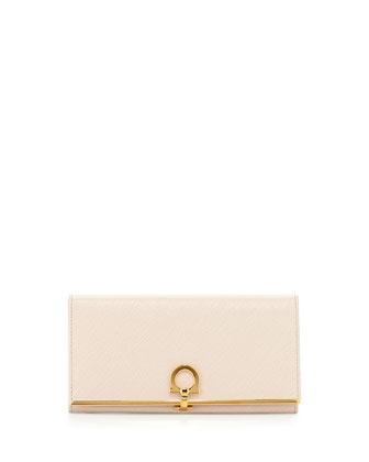 Icona Continental Flap Wallet, Macaron
