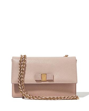 Ginny Vara Medium Crossbody Bag, Macaron
