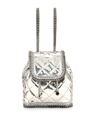 Falabella Mini-Quilted Backpack