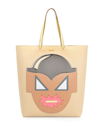 Superhero Structured Tote Bag