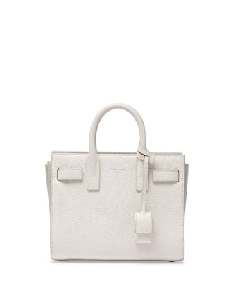 Sac de Jour Mini Crossbody Bag, White