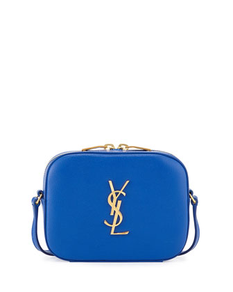 Monogramme Camera Crossbody, Blue