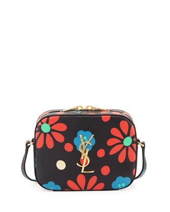Monogramme Printed Camera Crossbody Bag