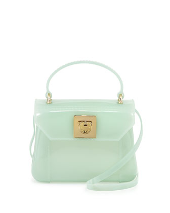 Candy Bon Bon Mini Crossbody Bag, Aqua