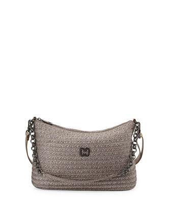 Powchky Zip-Top Crossbody Bag