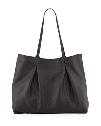 Austin Leather Tote Bag, Black