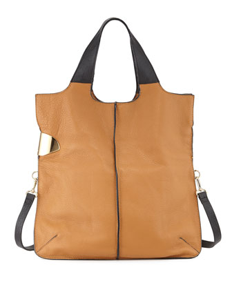 Fashion Hobo Bag, Tan Multi
