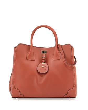Jourdan 2 Tote Bag, Rust