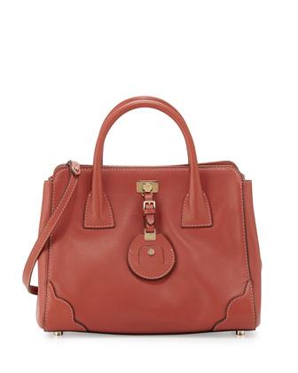 Jourdan 2 Petite Tote Bag, Rust