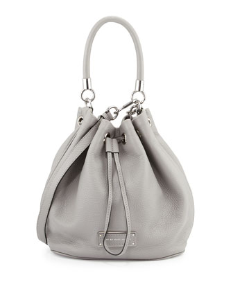 Too Hot to Handle Bucket Bag, Storm Cloud
