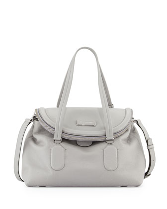 Silicon Valley Satchel Bag, Storm Cloud