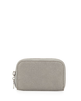 Zip-Around Wallet, Gray