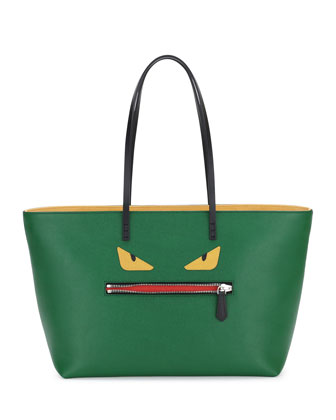 Monster Tote Bag, Green