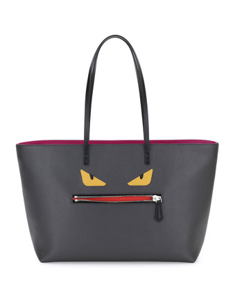 Monster Tote Bag, Gray