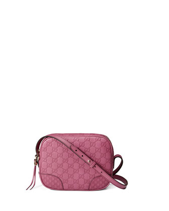 Bree Guccissima Leather Disco Bag, Pink