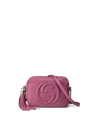 Soho Leather Disco Bag, Pink