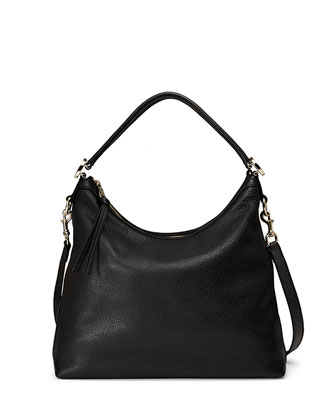 Miss GG Small Hobo Bag, Black