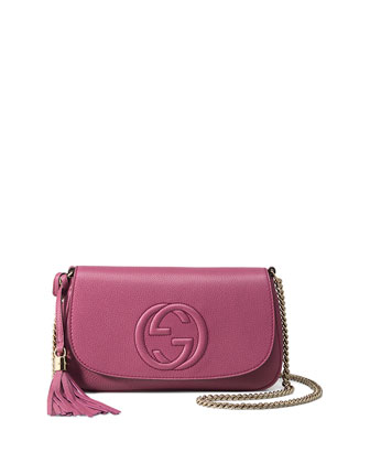 Soho Medium Crossbody Bag, Pink