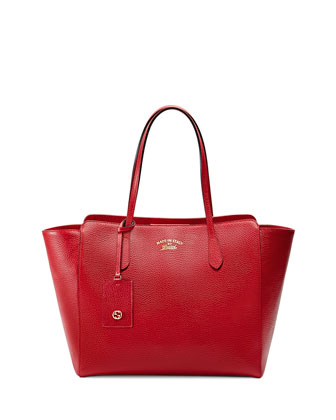 Swing Medium Tote Bag, Red