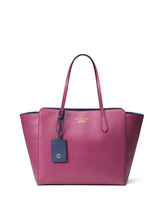 Swing Medium Tote Bag, Pink/Blue