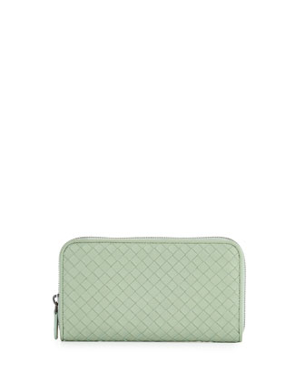 Zip-Around Organizer Wallet, Sage
