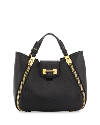 Sedgwick Mini Zipper Tote Bag, Black