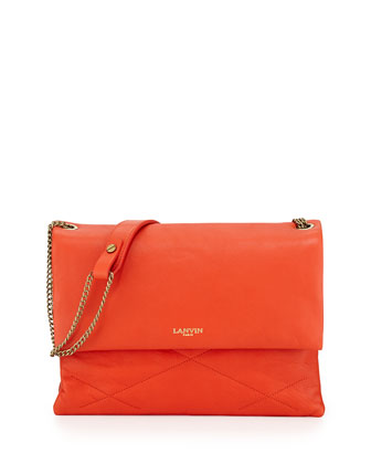 Sugar Medium Chain Shoulder Bag, Orange