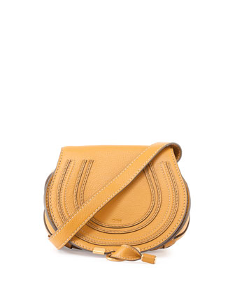 Marcie Small Crossbody Bag, Tan