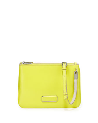 Ligero Double Percy Crossbody Bag, Zest
