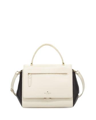 matthews drive anderson handbag, canvas/black