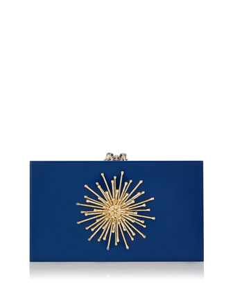 Orbital Pandora Clutch Bag, Cobalt