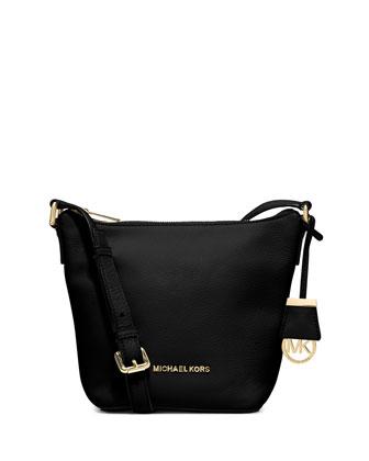 Bedford Small Messenger Bag, Black