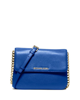Bedford Double-Gusset Crossbody Bag, Electric Blue