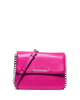 Bedford Double-Gusset Crossbody Bag, Raspberry