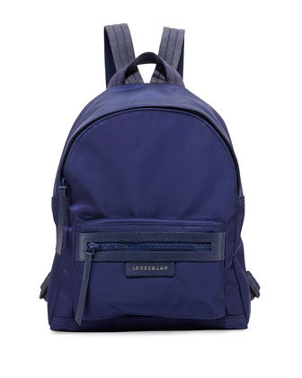 Le Pliage Small Nylon Backpack, Navy