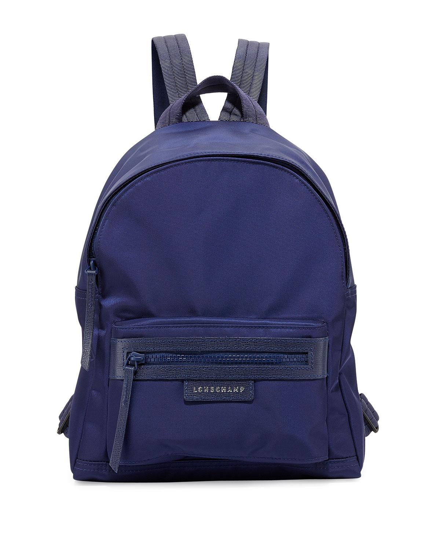 Le Pliage Small Nylon Backpack, Navy - Longchamp