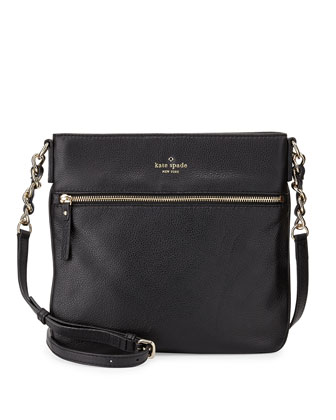 cobble hill ellen crossbody bag, black