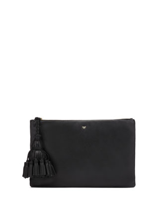 Georgiana Clutch Bag, Black