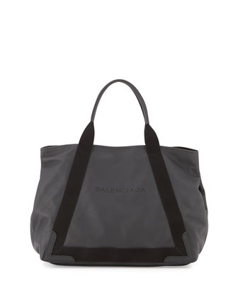 Cabas Medium Tote Bag, Black