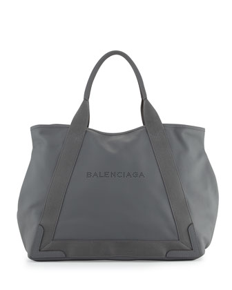 Cabas Medium Tote Bag, Gray