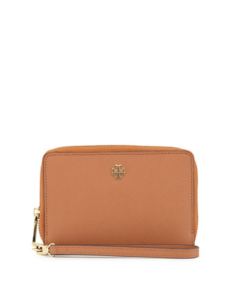 York Multi-Task Saffiano Wristlet, Luggage
