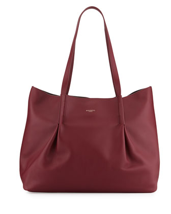 Ondine Calf Tote Bag, Bordeaux