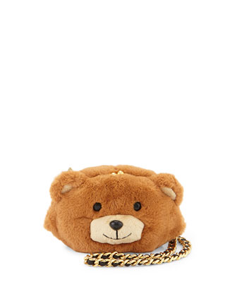 Teddy Bear Plush Mini Shoulder Bag