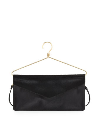 Hanger Crossbody Bag, Black