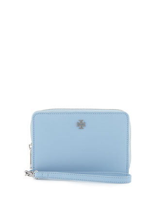 York Smartphone Wristlet, Fairview Blue