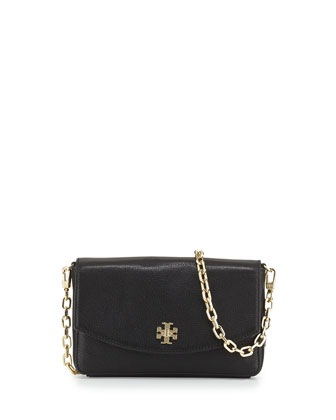 Mercer Classic Leather Crossbody Bag, Black
