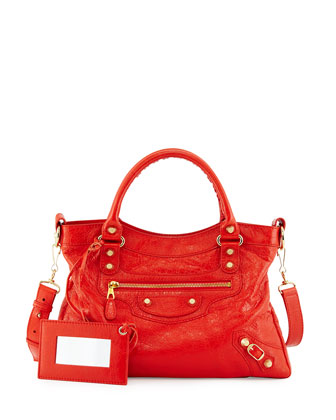 Giant 12 Golden Town Tote Bag, Rouge