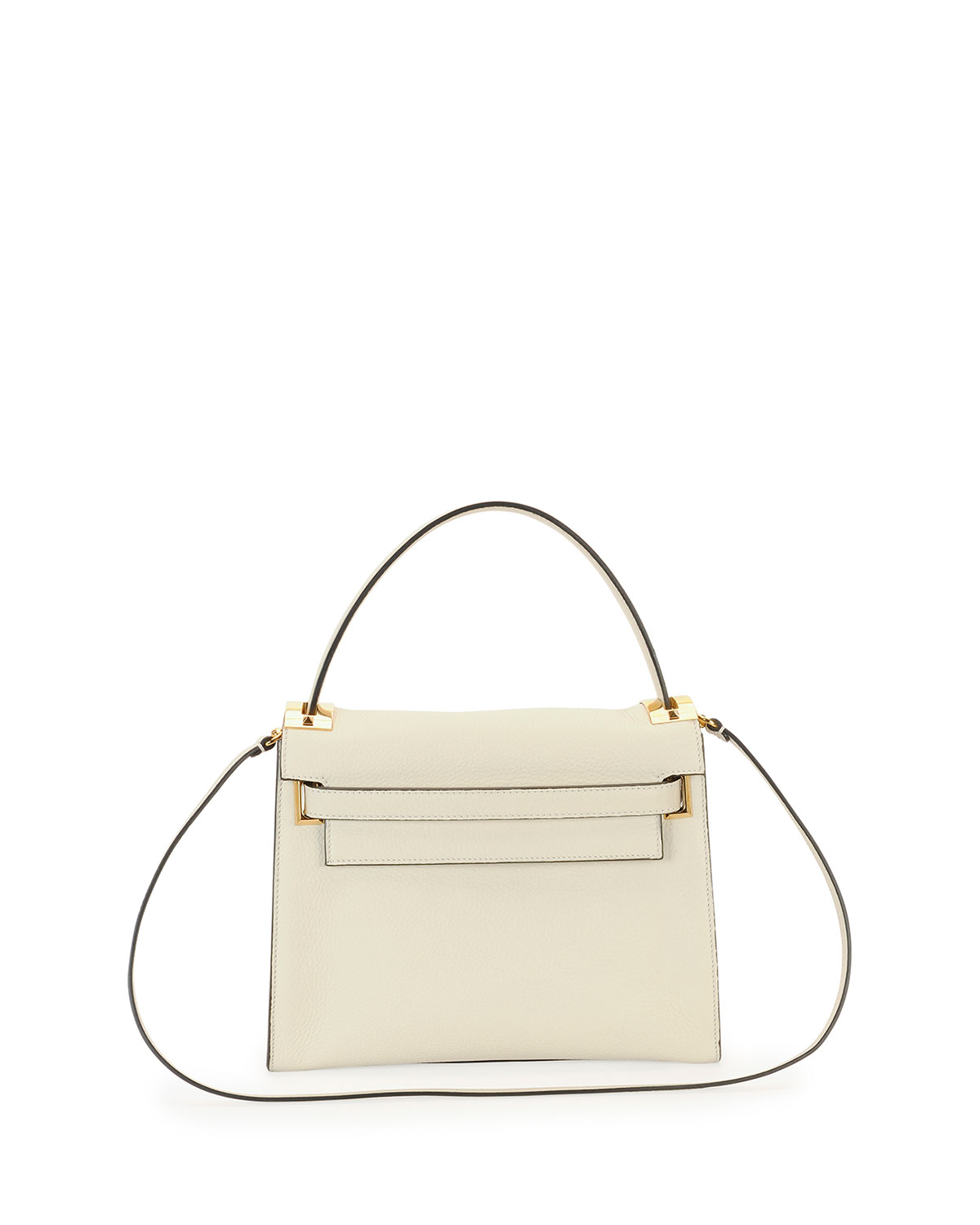 Red Valentino My Rockstud Top-Handle Satchel Bag, Light Ivory